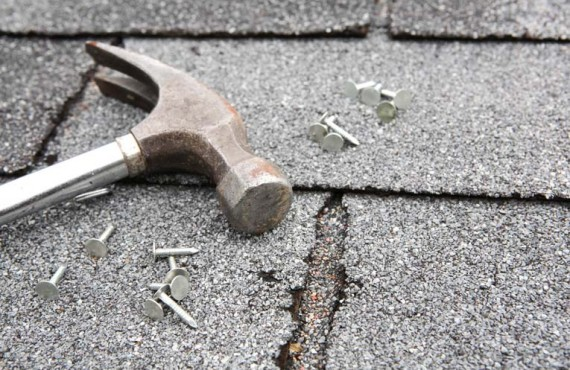 Repairing Damaged Asphalt Shingle Roof