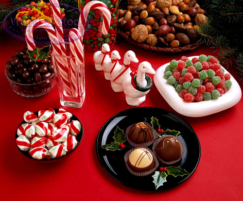 Candy Canes On The Tree or A Stack Of Chocolate Coins - 5 Festive Ways To Give Sweets This Christmas
