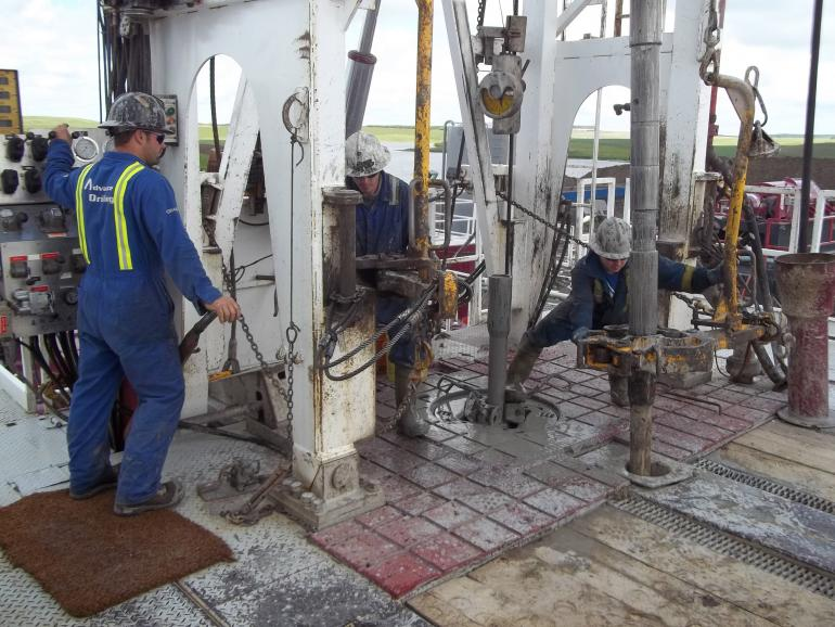 The Process Of Drilling And Production Of Oil