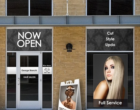 The Importance Of Hair Salon Window Displays