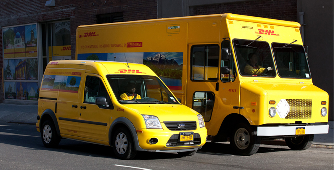 Can Delivery Vehicles Really Be Carbon Free? DHL Thinks So