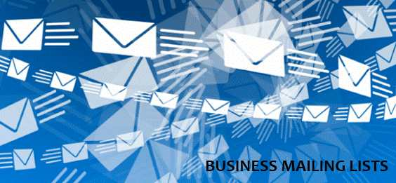 consumer mailing lists online