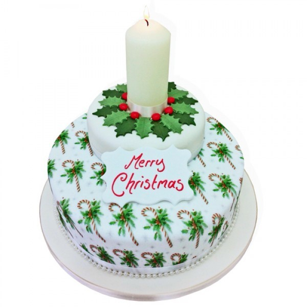 10 Imaginative Christmas Cakes Too Chill To Eat