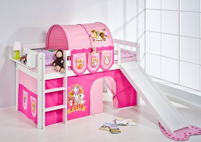 Give A Play House To Your Kids Bunk Beds With Slides
