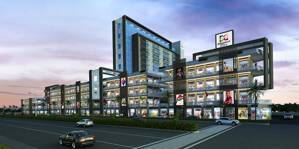 Orris Market City - Opens New Space For Lucrative Investment
