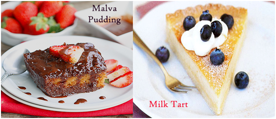 Top 5 Most Serving Desserts In South Africa