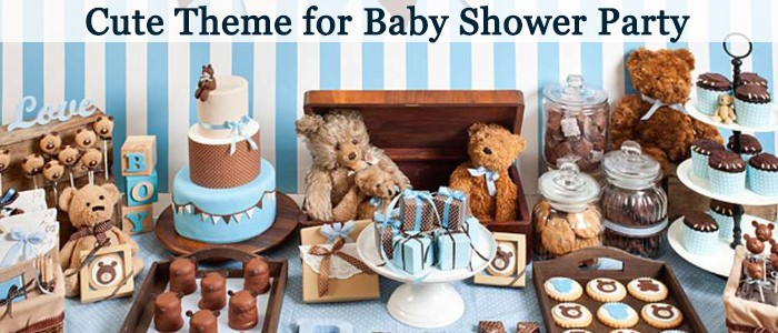 Attractive and Unique Teddy Bear Theme Baby Shower Party Ideas