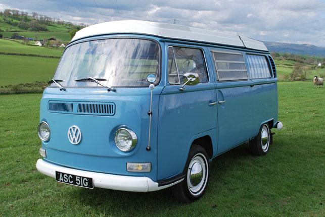 """Have Vw Camper Van-  Will Travel"" Holidays In Suffolk"