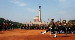 Change of Guard Delhi