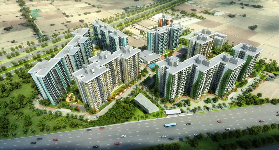 Tata New Haven Bahadurgarh - Comes With Well Formed 2 BHK Space With No Charges For Kids Room