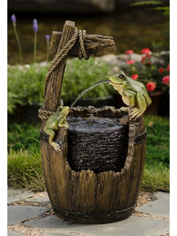 Garden Fountain - Where To Place and How To Celebrate Its Presence