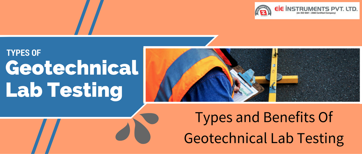 Geotechnical lab testing