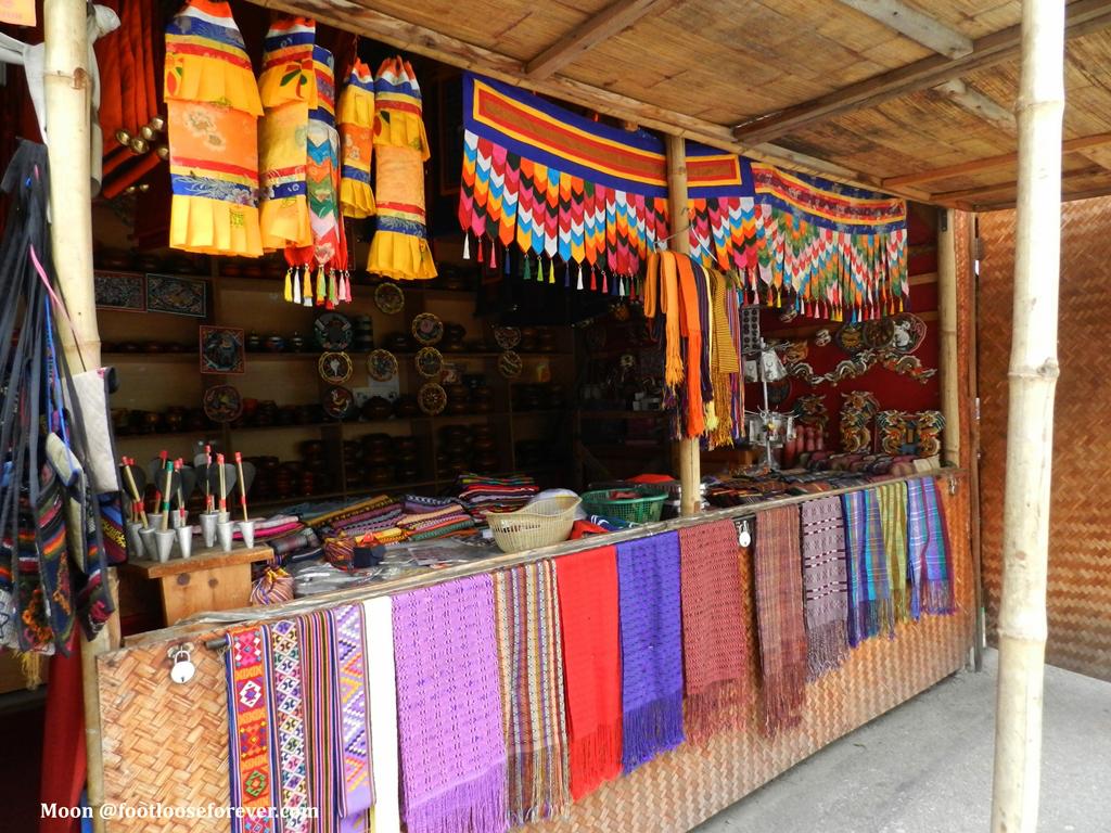 Bhutan Handicrafts Shopping