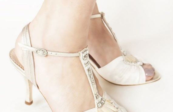 Buy a Flat Wedding Shoe to Create Your Own Cinderella Moment