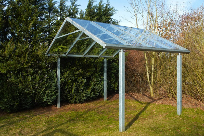 Pre Fabricated Metal Canopies