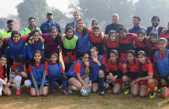 Angelique Foundation Funds Hans Women Football Club For The Indian Women's League Qualifiers