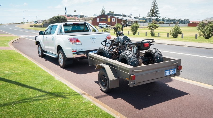 Moving A Motorcycle An Expert's Task