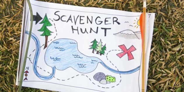 A Fun And Printable Scavenger Hunt